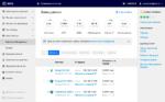 Скриншот № 2 интерфейса личного кабинта Mail.ru Cloud Solutions